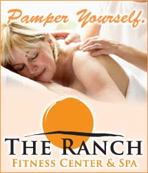 Pamper Yourself at The Ranch Fitness Center and Spa.