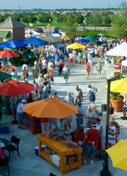 Farmers' Market at Circle Square Commons in Ocala FL.
